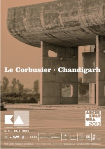 Le Corbusier - Chandigarh / Kabinet architektury